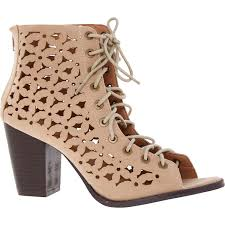 womens boots tk maxx dolcis taupe laser cut lace up ankle boots tk maxx summer