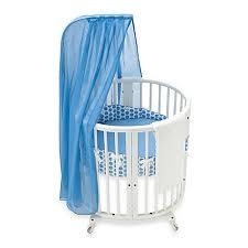 Stokke Bedding Set Stokke Sleepi Mini Blue Dots Crib Bedding Set And Accessories