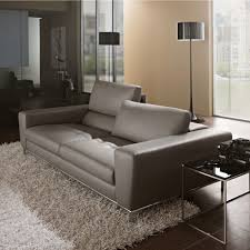 Leather Settees Uk Aria Designer Grey Leather Sofa