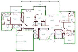 one level house plans with porch uncategorized one level house plans with 2 car garage one level