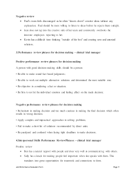 Clinical Trial Manager Resume Clinical Trial Manager Perfomance Appraisal 2
