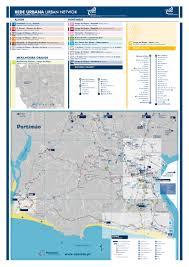 Via Bus Route Map Bus Timetable Portimão Local Vai E Vem Bus Services