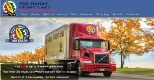 truckload fuel surcharge table oak harbor freight lines inc