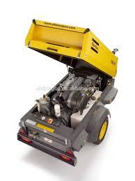 atlas copco compressor portátil diesel com ce compressores de ar