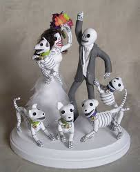 day of the dead cake toppers day of the dead wedding cake topper by claylindo on deviantart