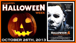 halloween 4 the return of michael myers movie review youtube