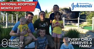 national adoption month family equality council