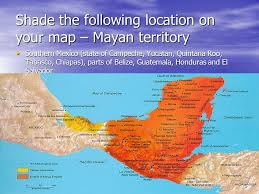 map of mexico yucatan region an introduction to the mayan ndw 4m map of mayan region