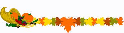 thanksgiving divider clipart clipartsgram