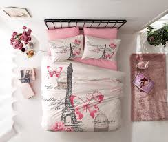 Eiffel Tower Bed Set Pink Bedding Sets U2013 Ease Bedding With Style