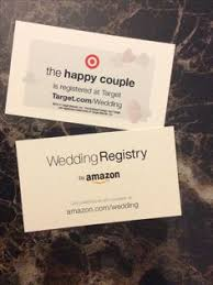 las vegas wedding registry wording for a registry card by bespoke press other lovely