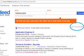 big data hadoop resume 5 reasons to learn hadoop