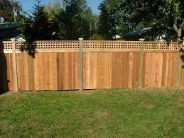 Backyard Fence Lattice Fence Pictures And Ideas