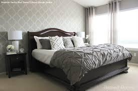 wall stencils ideas for dreamy romantic bedroom decor royal