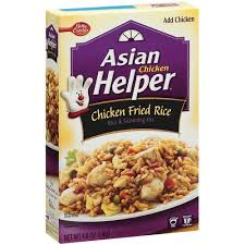 betty crocker chicken fried rice asian helper 4 8 oz walmart com