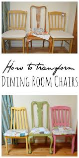 Recover Dining Room Chairs Restyled Shabby Chic Dining Room Chairs Vicky Myers Creations