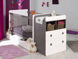 chambre bébé évolutive malte taupe blanc avec matelas chambrekids