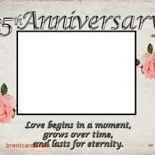 25 year wedding anniversary wedding anniversary cards to parents free card design ideas 25