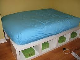 Bed Platform Drawers Build by