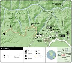 Map Of Grand Canyon Caravan Com Announces Extended Stays At Newly Renovated Bright