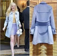 jacket blue dress wool long sleeves buttons belt brands