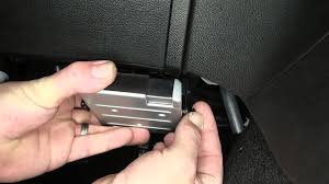 installation of a trailer brake controller on a 2014 jeep grand