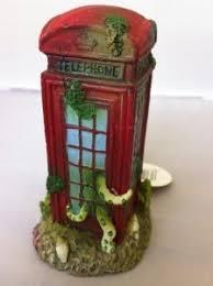 fish tank ornament phone box fish tank bank