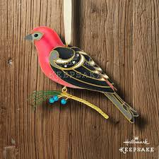 2012 hallmark ornament painted bunting the of birds