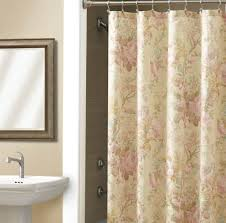 bathroom beautiful shower curtain design tricks in with curtains matching window treatments decor 9