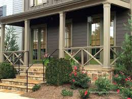 Front Porch Railing Ideas Materials and More  Exterior Railing