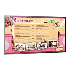 digital signage player software and over 1 000 templates for