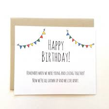 unique funny birthday cards brother gangcraft greetingsday co