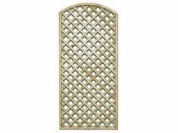 Custom Trellis Panels X 900mm Natural Treated Convex Standard Diamond Garden Trellis Panels