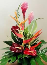 tropical flower arrangements tropical dreams arrangement