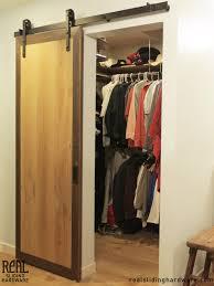 How To Hang A Closet Door Plush Design Hanging Barn Doors Interior Sliding Door Ideas Aloin