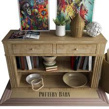 Pottery Barn Tanner Coffee Table by Pottery Barn Livingston Console Table By Erkin Aliyev 3docean