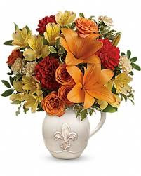 flower basket sandstone florist flower delivery by cheri s flower basket