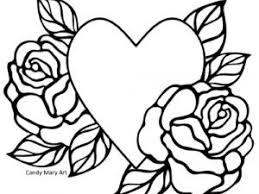 Coloriage Coeur Old School par CandyMary