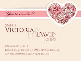 wedding invitation cards wedding invitation cards vectors