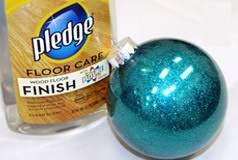 diy glitter ornament handmade craft for craft like this