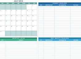 Blank Spreadsheets Monthly Calendar Template Excel Contegri Com