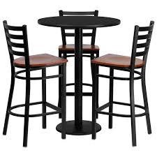 bar stool table and chairs wood and metal pub table dragonspowerup