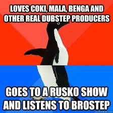 Dubstep Memes - awkward dubstep penguin memes quickmeme