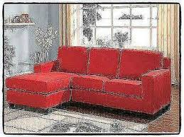 Chaise Lounge Red Red Sectional Sofa Microfiber Chaise Lounge Living Room Modern