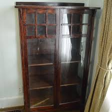 Antique German Display Cabinet