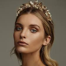 gold headpiece the carousel gold kitte