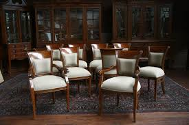 exellent upholstered dining room chairs with arms modern s for