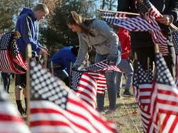 National Flags For Sale Oakcrest Plants Flags To Honor U0027forgotten Soldiers U0027 Who Died By