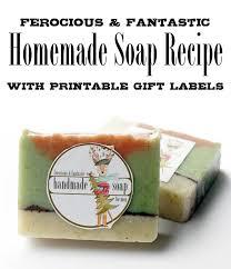 men u0027s soap recipe u0026 holiday gift idea with free printable holiday