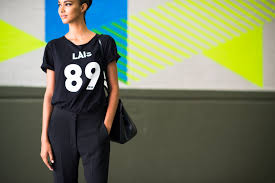 women u0027s black and white print crew neck t shirt black dress pants
